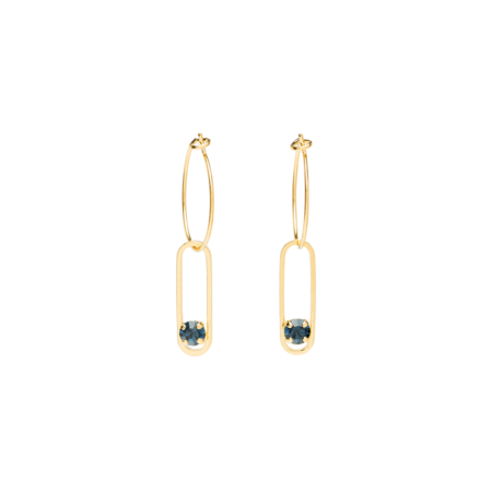 Boucles ANNE-MARIE antharcite